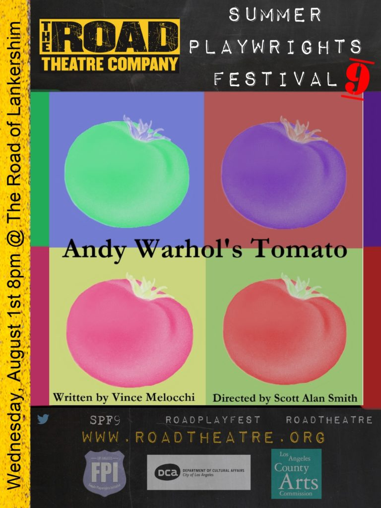 Andy Warhol's Tomato poster
