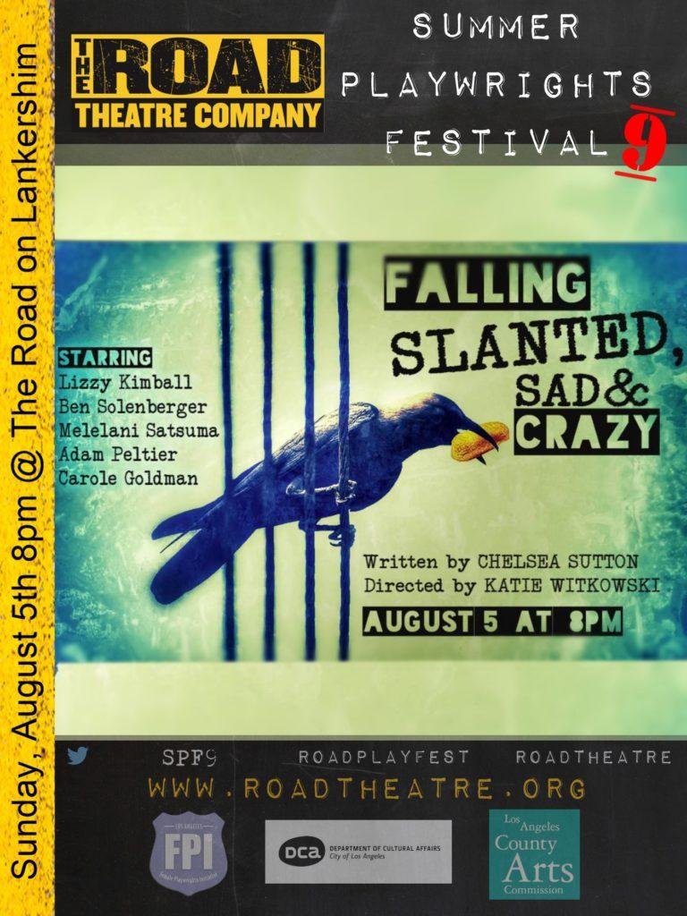 Falling Slanted, Sad & Crazy poster