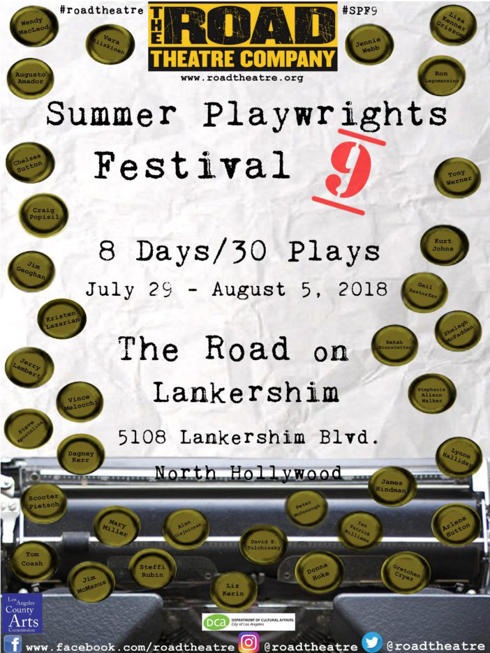 Summer Playwrights Festival 9 Poster