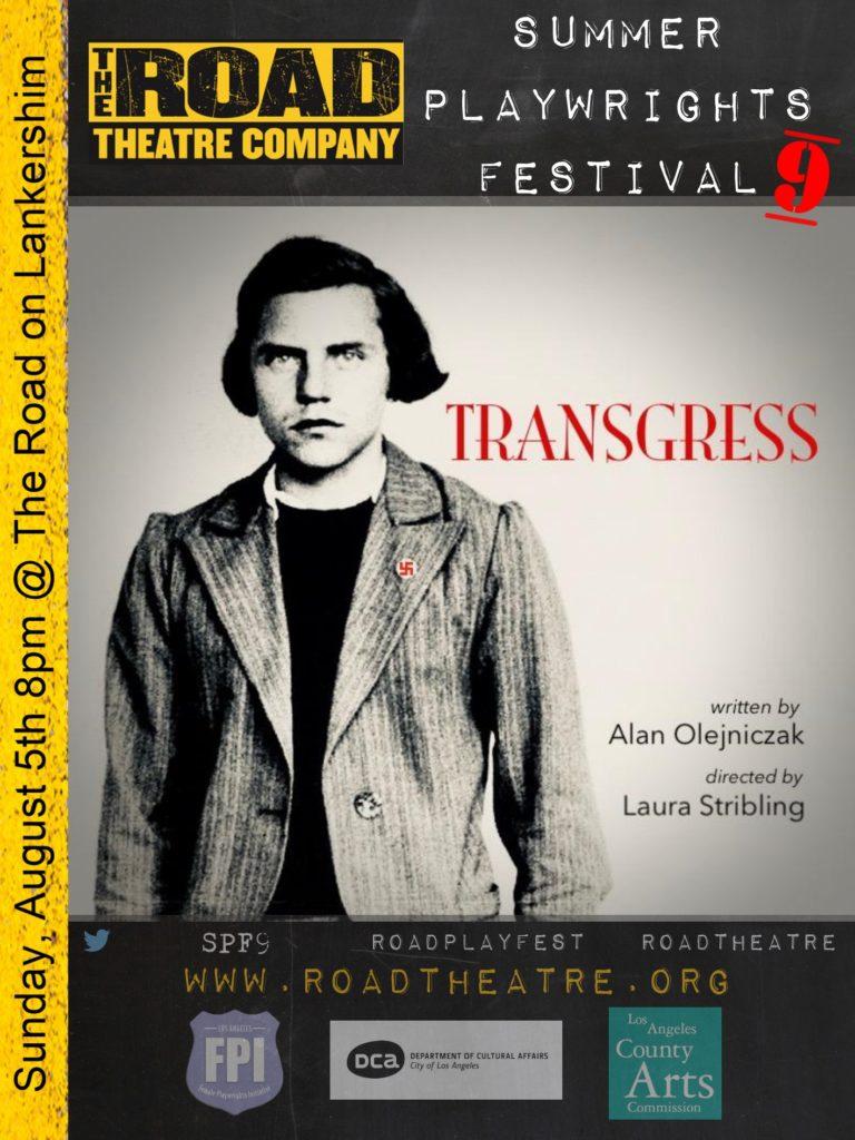 Transgress poster